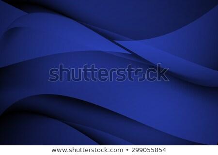 navy blue abstract curve wavy background stock photo © kheat