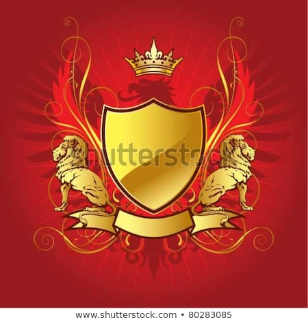 red shield wings stock photo © cteconsulting