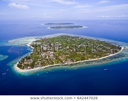 острове воздуха Индонезия воды лет синий Сток-фото © JanPietruszka
