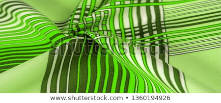 set of string lights for backdrop with green leaves background stock photo © art9858
