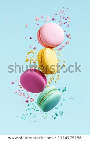 Сток-фото: Sweet · домашний · Cookies · темно · Focus