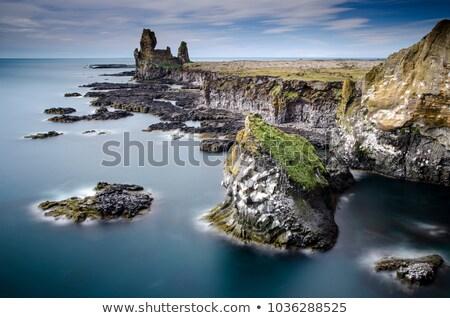 急 海岸 アイスランド 美しい ストックフォト © Hofmeester