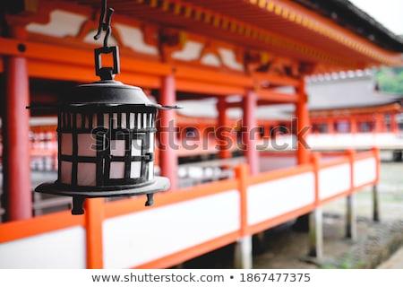 Old metal shrine Stock photo © Alsos