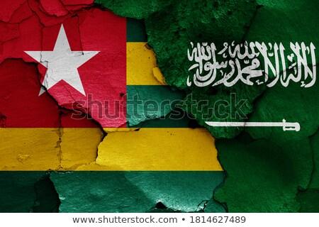 Arabia Saudyjska Togo flagi puzzle odizolowany biały Zdjęcia stock © Istanbul2009