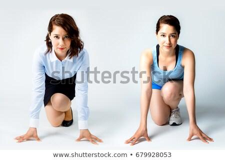 iker · sport · lányok · kezdet · nő · szeretet - stock fotó © Paha_L