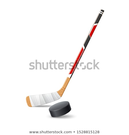 hockey puck line icon stock photo © rastudio