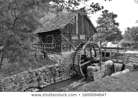 кабины · дымчатый · гор · пионер · эпоха · исторический - Сток-фото © tmainiero