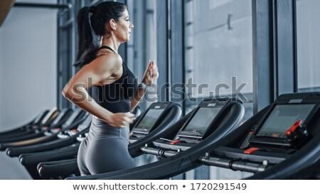 devagar · seguir · atletismo · tempo · corrida - foto stock © deandrobot