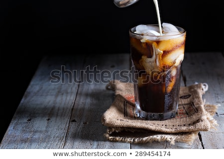 A glass of iced coffee Stock photo © bluering