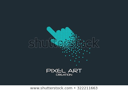 mouse computer icon sign logotype Stock photo © vector1st