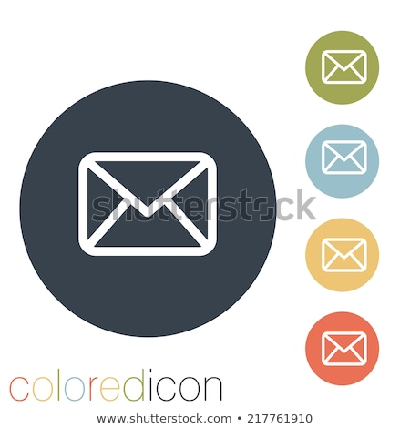 E-mail icon with highlight Stock photo © Oakozhan