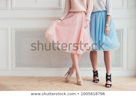 Young girl in heels Stock photo © orla