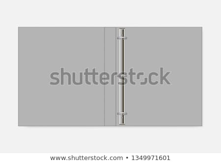 Binder folder vector Stock photo © Andrei_