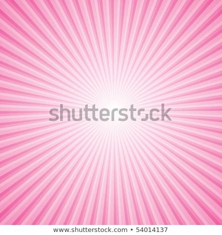 orange pink sunburst background Stock photo © SArts