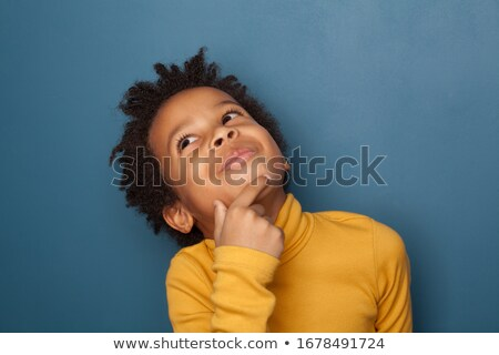 Handsome Young Boy Expression Stock photo © 2tun