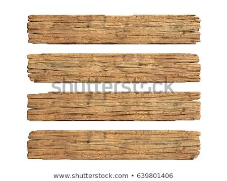 fal · fából · készült · deszkák · festett · fehér · szürke - stock fotó © imaster