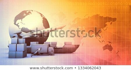 Estratégia 3d render preto quadro-negro Foto stock © tashatuvango