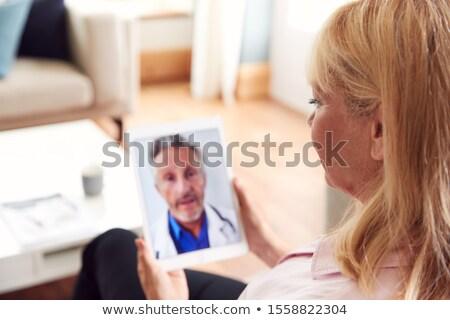 Medico consulenza donna matura donna uomo ospedale Foto d'archivio © IS2