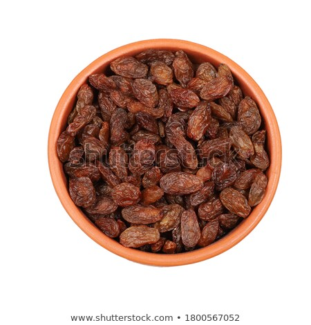 Red raisins on white Stock photo © vinodpillai