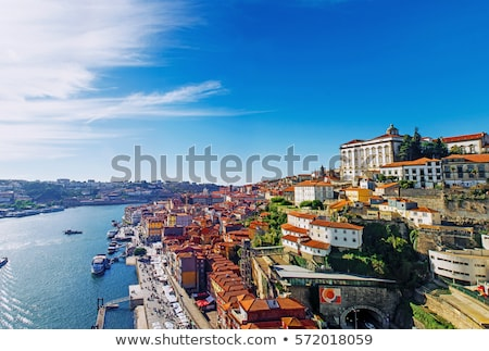 stad · Portugal · stadsgezicht · schaduw - stockfoto © joyr
