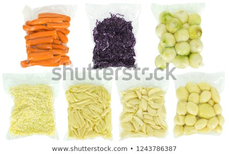 Carrot French Fries Bag Stock photo © lenm