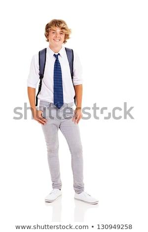 男子生徒 セット 休暇 ストレス ベクトル 芸術 ストックフォト © toyotoyo