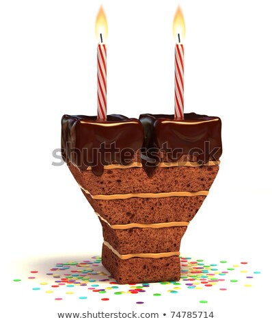 Cartoon Letter Y Birthday Stock photo © cthoman