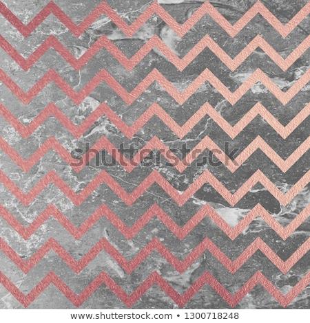 Rose Gold glittering diagonal lines pattern on black background. Stock photo © fresh_5265954