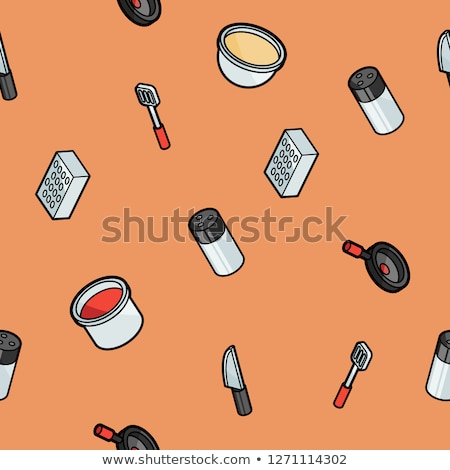 Gas color outline isometric pattern Stock photo © netkov1
