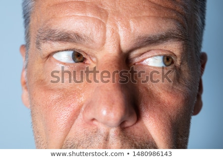 Man Doing Shifting Eye Exercise Stock photo © AndreyPopov