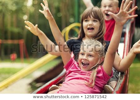 Kids Playground, Children and Outdoor Activity Stock photo © robuart