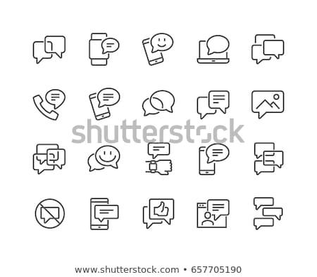 Stockfoto: Helpen · ondersteuning · iconen · vector · afbeelding · eenvoudige