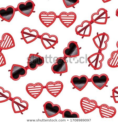 Senza soluzione di continuità amore texture rosso ripetibile icone Foto d'archivio © ukasz_hampel