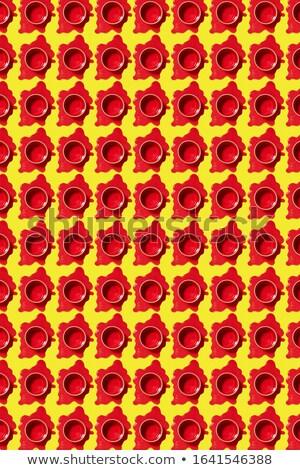 Függőleges minta festék piros dekoratív közvetlen Stock fotó © artjazz