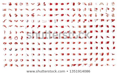 Duży kolekcja wektora flagi Malta tle Zdjęcia stock © butenkow