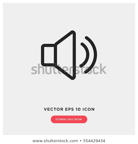 simple · música · sonido · iconos · vector - foto stock © stoyanh