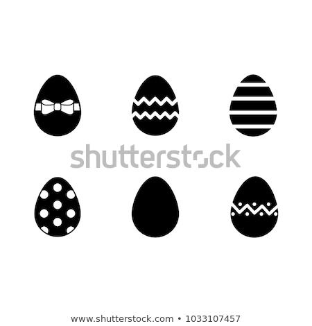 rosso · bianco · uova · Pasqua · alimentare · design - foto d'archivio © pressmaster