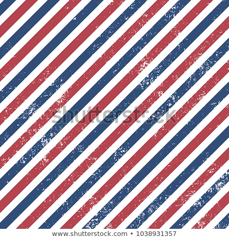 grunge red and blue stripes stock photo © lubavnel