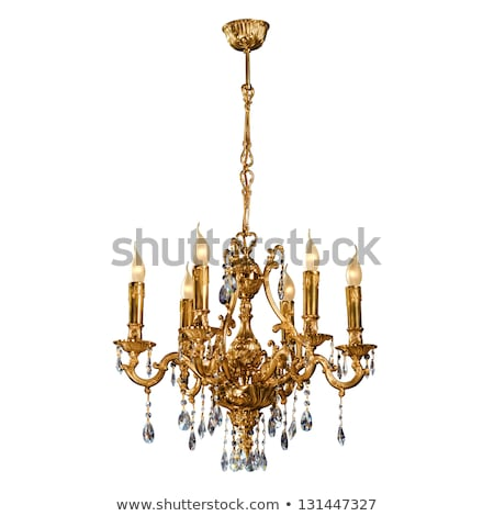 Vintage chandelier Stock photo © ElaK