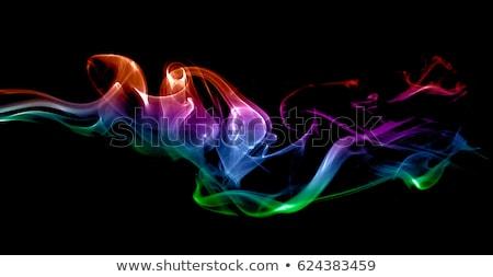 multicolored smoke detail stock photo © prill