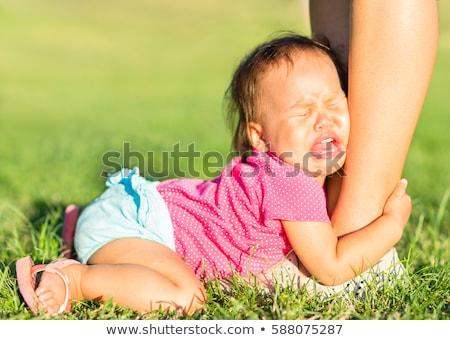 authoritative looking young child Stock photo © gewoldi