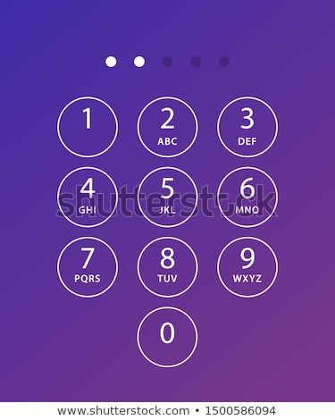 Numeric Keypad Stock photo © pinkblue