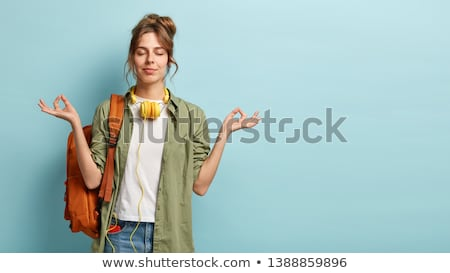 relaxing student stock photo © aremafoto