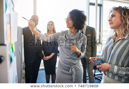 Businesswomen collaborating Stock photo © photography33