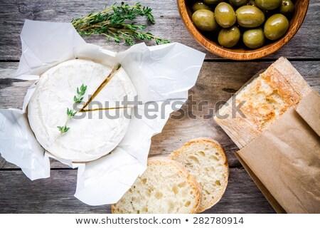 Camambert gıda restoran peynir kahvaltı Stok fotoğraf © photography33