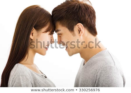 Couple with heads together stock photo © photography33