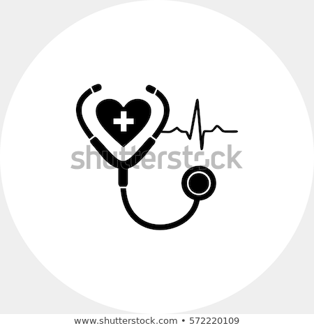 saúde · batida · de · coração · eletrocardiograma · corrida · homem · médico - foto stock © spectral
