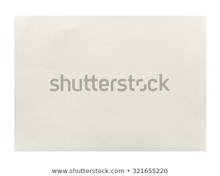 Old yellowing lined blank A4 paper isolated. Stock photo © latent
