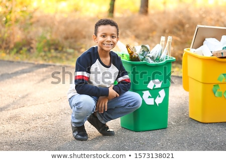 little boy recycling stock photo © photography33