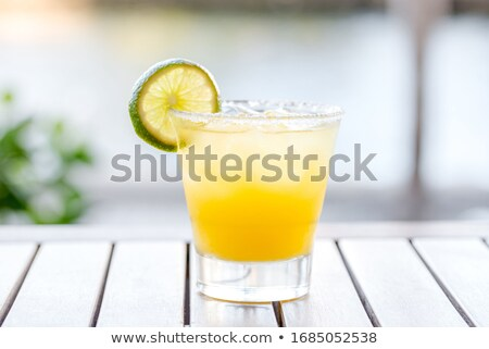 Sugar Rim of Fresh Lemonade stock photo © ildi